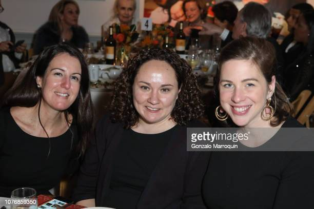 Kate Kolber Joanne Casey and Allie Hartman attend Association To Benefit Children's Thanks for Giving Benefit at Bohemian National Hall on November...