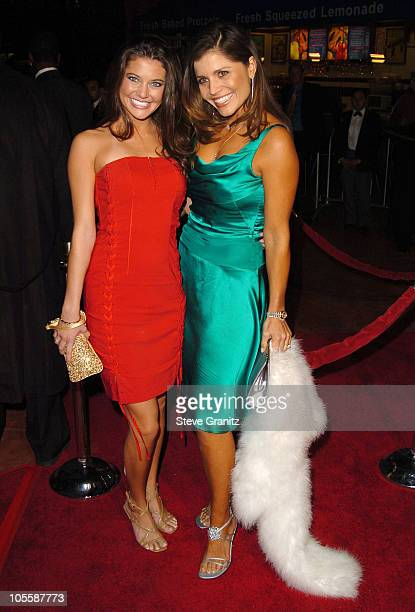 Kate Koth and Mindy Burbano during Meet The Fockers Los Angeles Premiere Arrivals at Universal Amphitheatre in Universal City California United States