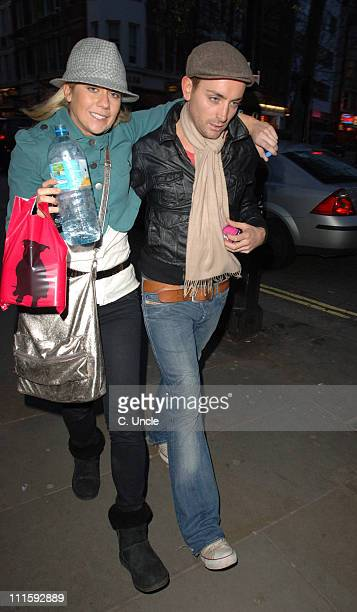 Kate Lawler and guest during Kate Lawler Sighting at Leicester Square in London March 29 2006 at Leicester Square in London Great Britain