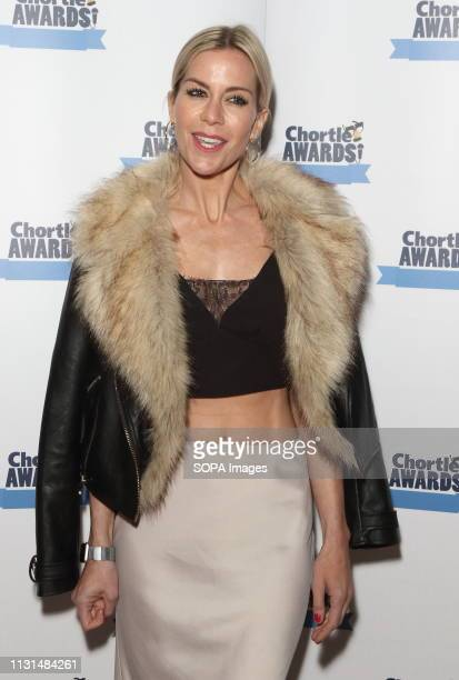 Kate Lawler at the Chortle Comedy Awards at FEST, Camden Town.