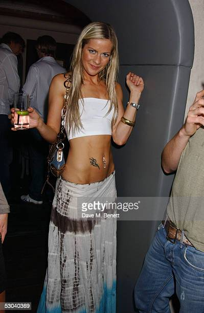 Kate Lawler attends the launch of the new elite West End nightclub Movida at Argyll Street June 8 2005 in London England The new venue is owned by...