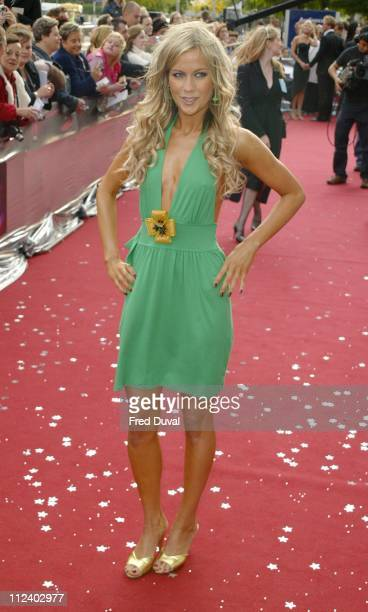 Kate Lawler during 2004 Celebrity Awards at London Television Centre in London England Great Britain