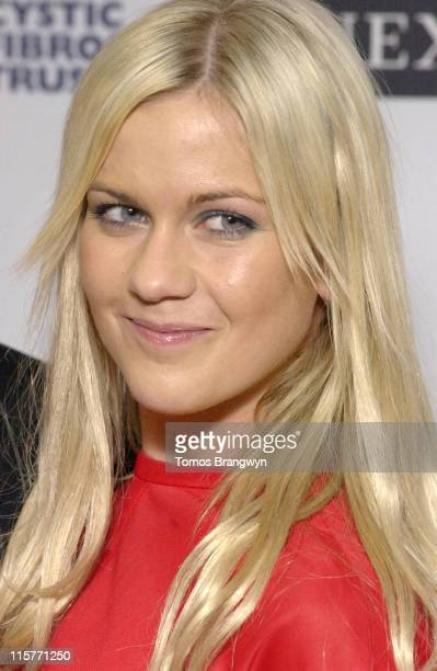 Kate Lawler during Cystic Fibrosis Trust Breathing Life Awards Press Room at Royal Lancaster Hotel in London Great Britain