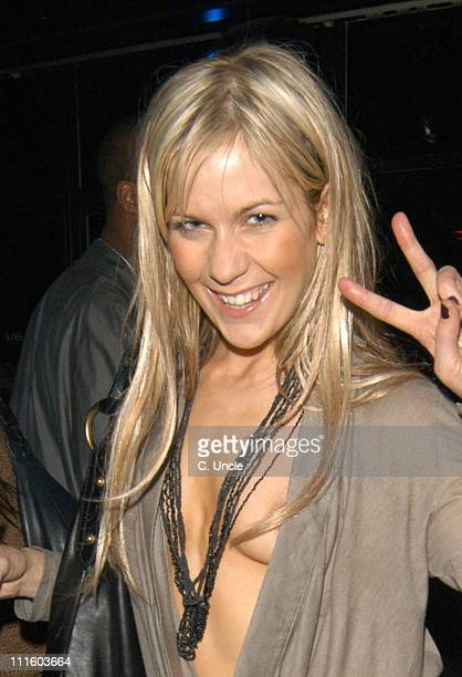 Kate Lawler during National Casino Week Party Inside at Penthouse in London Great Britain