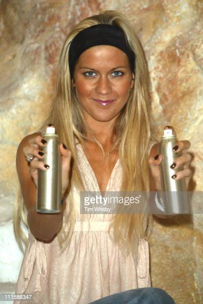 Kate Lawler during The Daily Mail Ideal Home Show 2005 at Earls Court in London Great Britain