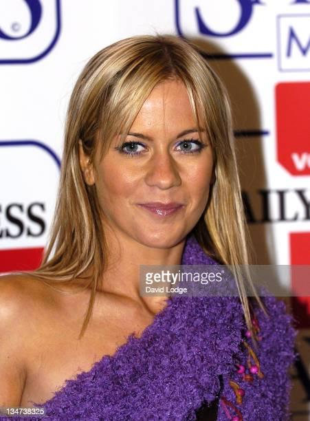 Kate Lawler during Vodafone Life Savers Awards 2004 at Savoy Hotel in London Great Britain