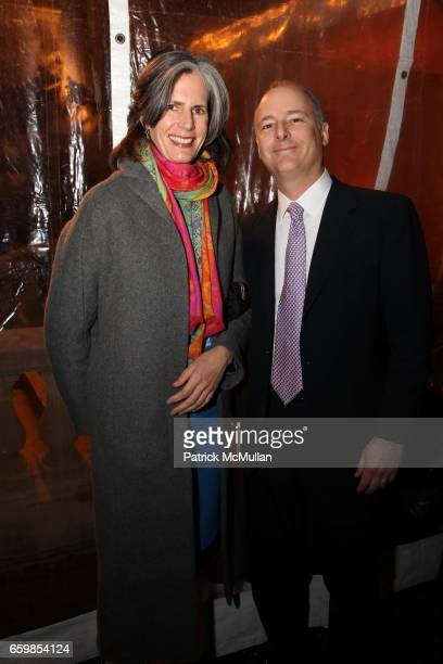 Kate Levin and Charles de Gunzburg attend DIA ART FOUNDATION Fall Gala 2009 at Hispanic Society of America on November 6 2009 in New York City