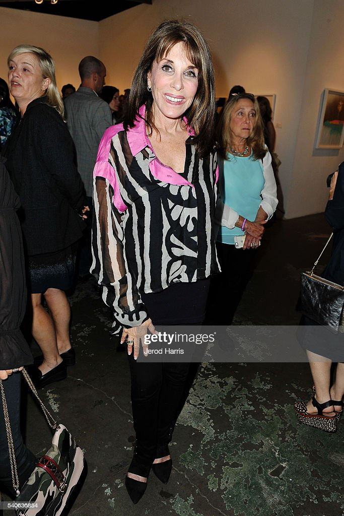 Kate Linder attends Art For ALS at Arena 1 Gallery at the Santa Monica Art Studios on June 15, 2016 in Santa Monica, California.