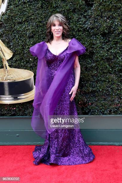 Kate Linder attends the 45th annual Daytime Emmy Awards at Pasadena Civic Auditorium on April 29 2018 in Pasadena California