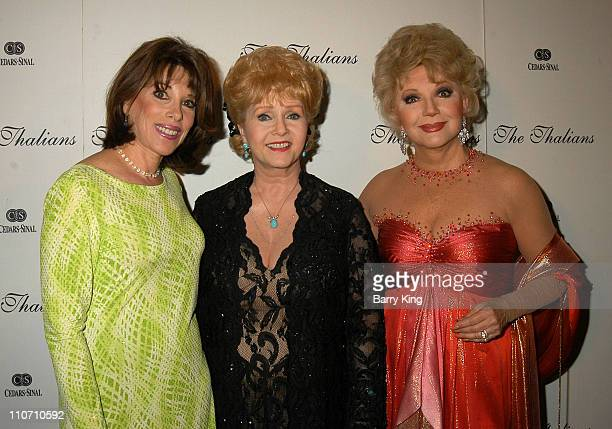 Kate Linder Debbie Reynolds Ruta Lee during The Thalians Honor Burt Bacharach at 48th Annual Ball at Century Plaza Hotel in Century City California...