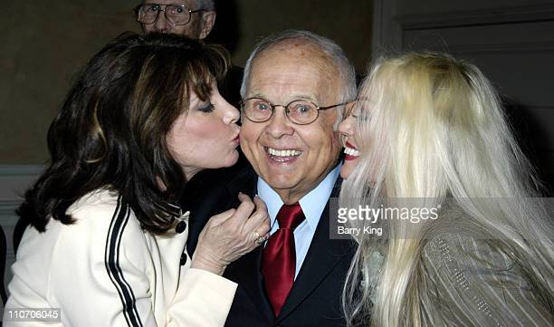 Kate Linder Johnny Grant and Mamie Van Doren during Pacific Pioneer Broadcasters Honor Hollywood Mayor Johnny Grant at Sportsman's Lodge in Studio...