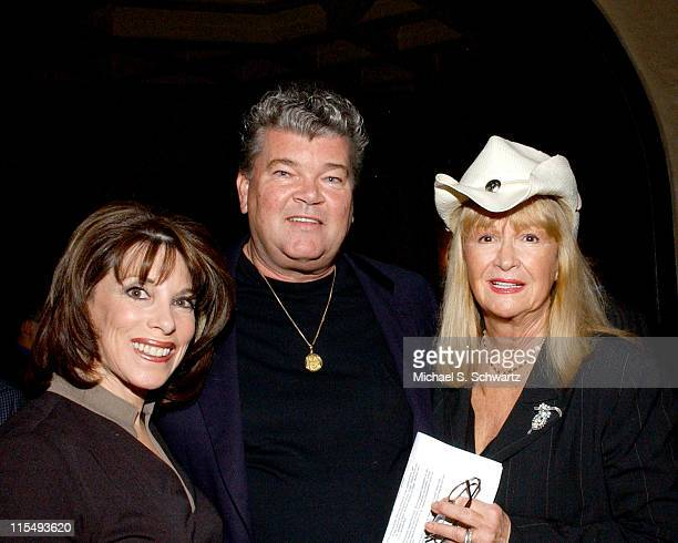 Kate Linder, Robert Hunter, and Diane Ladd during The 20th Annual Charlie Awards at The Hollywood Roosevelt Hotel in Hollywood, California, United...