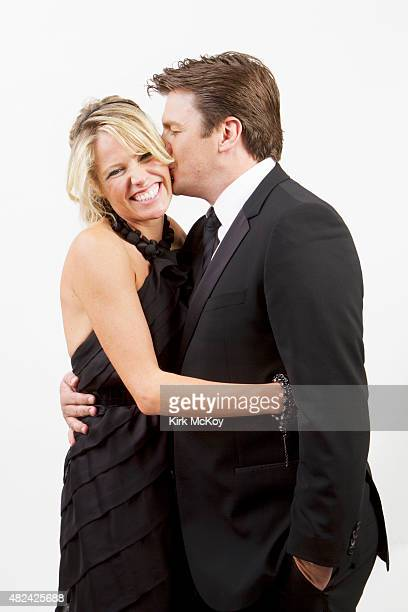 Kate Luyben and Nathan Fillion are photographed for Los Angeles Times on August 29 2011 in Los Angeles CA PUBLISHED IMAGE CREDIT MUST BE Kirk...