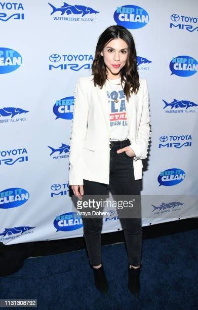Kate Mansi at 5th Annual Keep It Clean Live Comedy Benefit For Waterkeeper Alliance at Largo At The Coronet on February 21 2019 in Los Angeles...
