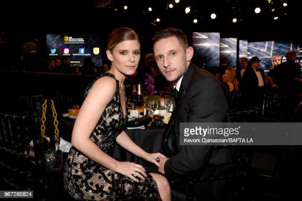 Kate Mara and Jamie Bell at the 2017 AMD British Academy Britannia Awards Presented by American Airlines And Jaguar Land Rover at The Beverly Hilton...