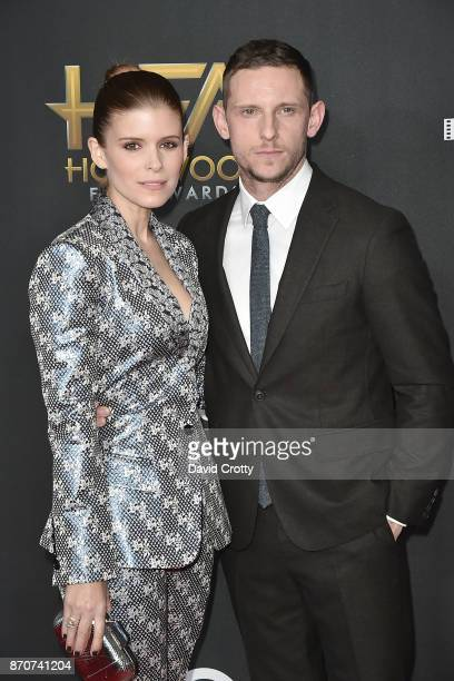 Kate Mara and Jamie Bell attend the 21st Annual Hollywood Film Awards Arrivals on November 5 2017 in Beverly Hills California