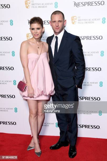 Kate Mara and Jamie Bell attend the EE British Academy Film Awards Nominees Party at Kensington Palace on February 17 2018 in London England