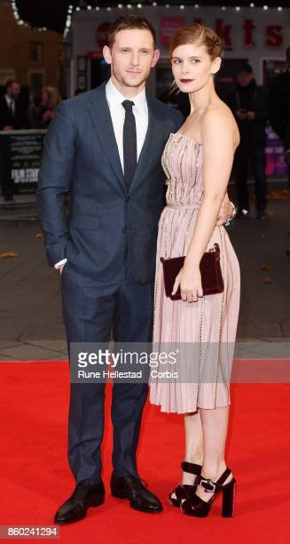 Kate Mara and Jamie Bell attend the European Premiere of 'Film Stars Don't Die In Liverpool ' at Odeon Leicester Square during the 61st BFI London...