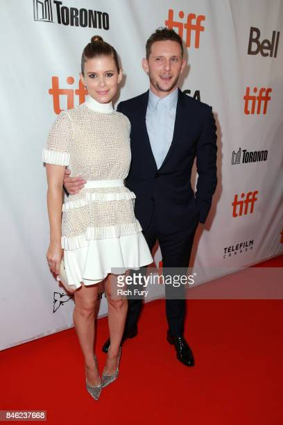 Kate Mara and Jamie Bell attend the Film Stars Don't Die in Liverpool premiere during the 2017 Toronto International Film Festival at Roy Thomson...