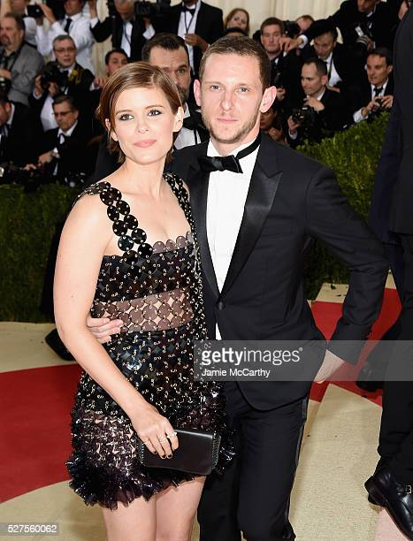 Kate Mara and Jamie Bell attend the 'Manus x Machina Fashion In An Age Of Technology' Costume Institute Gala at Metropolitan Museum of Art on May 2...