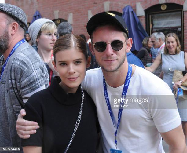 Kate Mara and Jamie Bell attend the Telluride Film Festival 2017 on September 2 2017 in Telluride Colorado