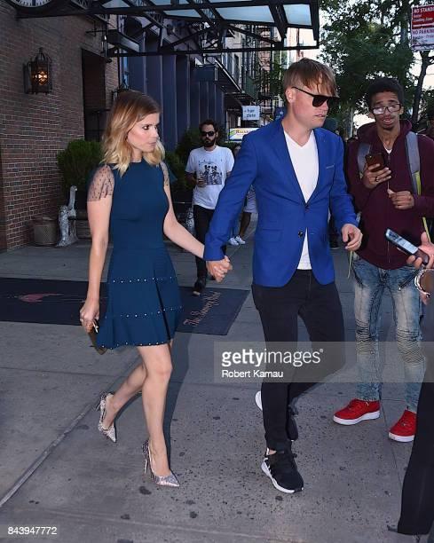 Kate Mara and John Mara Jr seen out in Manhattan on September 7 2017 in New York City