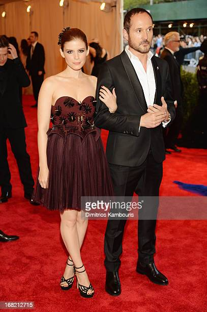 """Kate Mara and Joseph Font attend the Costume Institute Gala for the """"PUNK: Chaos to Couture"""" exhibition at the Metropolitan Museum of Art on May 6,..."""
