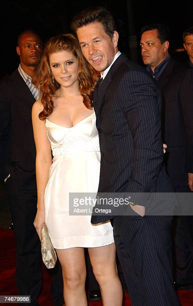 Kate Mara and Mark Wahlberg at the Village Mann Theater in Westwood CA