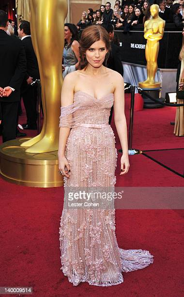 Kate Mara arrives at the 84th Annual Academy Awards held at the Hollywood Highland Center on February 26 2012 in Hollywood California