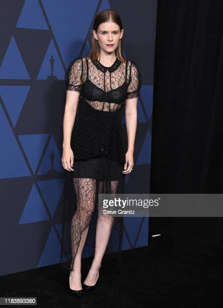 Kate Mara arrives at the Academy Of Motion Picture Arts And Sciences' 11th Annual Governors Awards at The Ray Dolby Ballroom at Hollywood Highland...