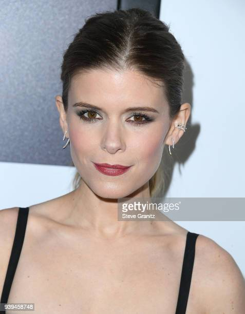 Kate Mara arrives at the Premiere Of Entertainment Studios Motion Picture's 'Chappaquiddick' at Samuel Goldwyn Theater on March 28 2018 in Beverly...