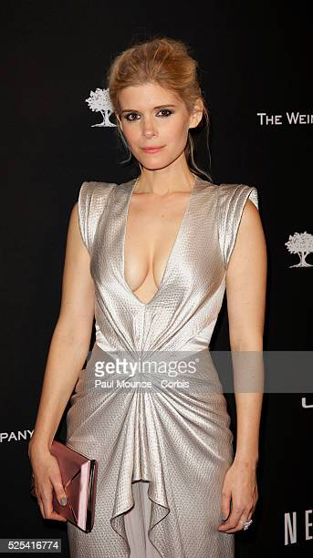 Kate Mara arrives at the Weinstein Company Golden Globes AfterParty