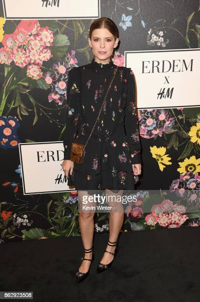 Kate Mara at HM x ERDEM Runway Show Party at The Ebell Club of Los Angeles on October 18 2017 in Los Angeles California