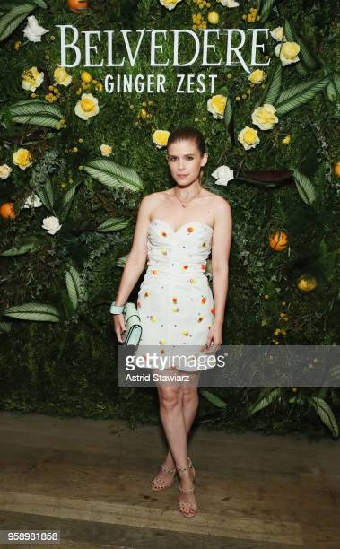 Kate Mara attends as Belvedere Vodka celebrates newest expression Ginger Zest with Candice Kumai at NoMo SoHo on May 15 2018 in New York City