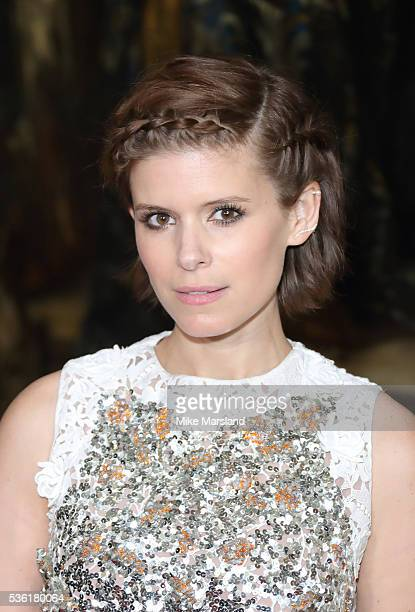 Kate Mara attends as Christian Dior showcases its spring summer 2017 cruise collection at Blenheim Palace on May 31 2016 in Woodstock England