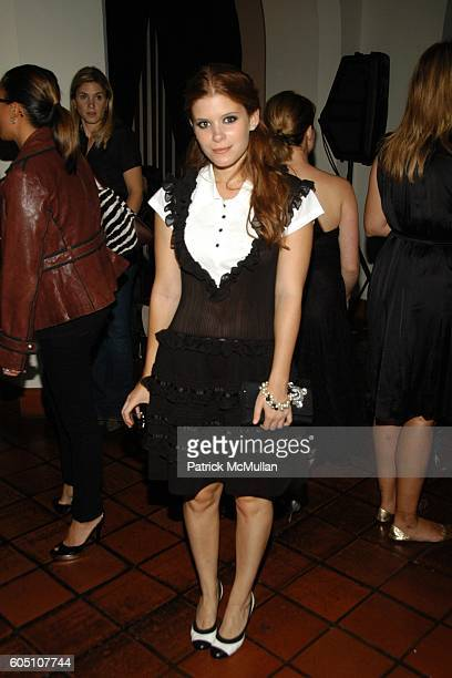 Kate Mara attends Columbia Pictures and CHANEL present a Special Screening of Marie Antoinette After Party at Arclight Cinemas on September 26 2006...