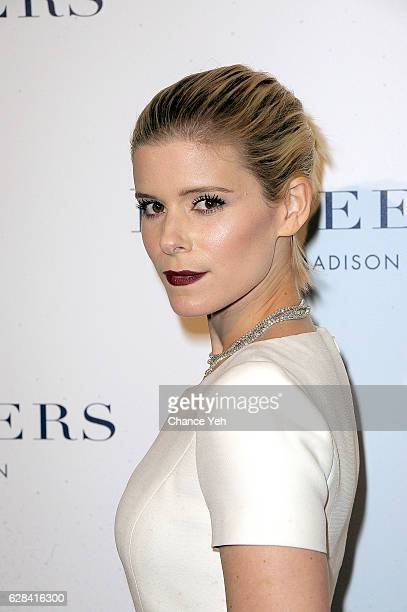 Kate Mara attends De Beers flagship store opening at De Beers on December 7 2016 in New York City