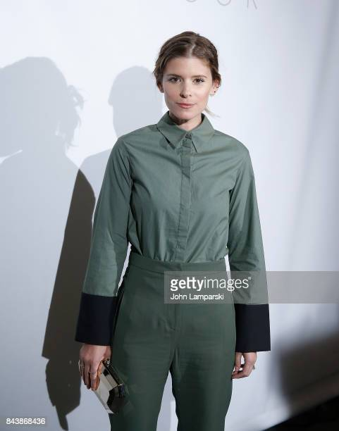 Kate Mara attends Noon By Noor September 2017 New York Fashion Week The Shows at Gallery 3 Skylight Clarkson Sq on September 7 2017 in New York City