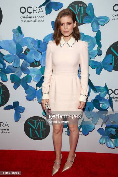 Kate Mara attends Ovarian Cancer Research Alliance Presents Style Lab hosted by Maggie Gyllenhaal & Kate Mara at Gotham Hall NYC on November 06, 2019...