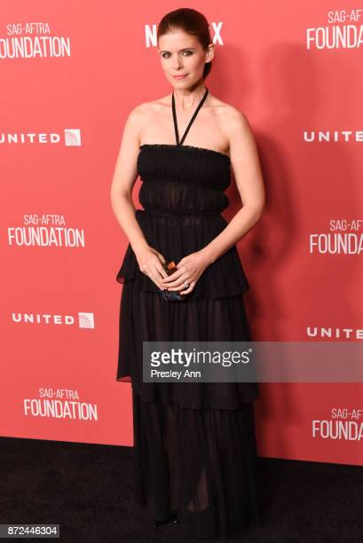 Kate Mara attends SAGAFTRA Foundation Patron of the Artists Awards 2017 Arrivals at Wallis Annenberg Center for the Performing Arts on November 9...