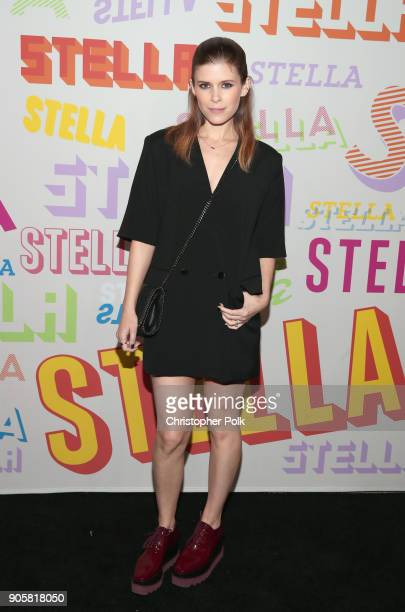 Kate Mara attends Stella McCartney's Autumn 2018 Collection Launch on January 16 2018 in Los Angeles California