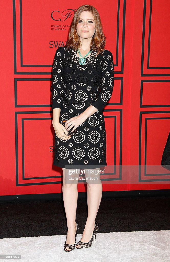 Kate Mara attends the 2013 CFDA Fashion Awardson June 3, 2013 in New York, United States.