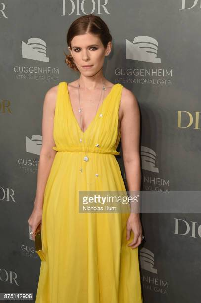 Kate Mara attends the 2017 Guggenheim International Gala made possible by Dior on November 16 2017 in New York City