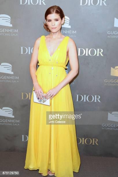 Kate Mara attends the 2017 Guggenheim International Gala on November 16 2017 in New York City