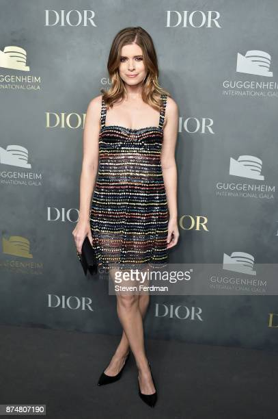 Kate Mara attends the 2017 Guggenheim International Gala PreParty made possible by Dior on November 15 2017 in New York City