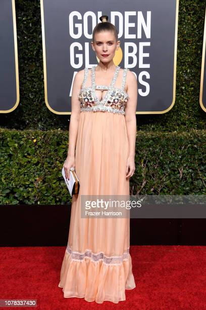 Kate Mara attends the 76th Annual Golden Globe Awards at The Beverly Hilton Hotel on January 6 2019 in Beverly Hills California