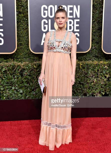 Kate Mara attends the 76th Annual Golden Globe Awards at The Beverly Hilton Hotel on January 6, 2019 in Beverly Hills, California.