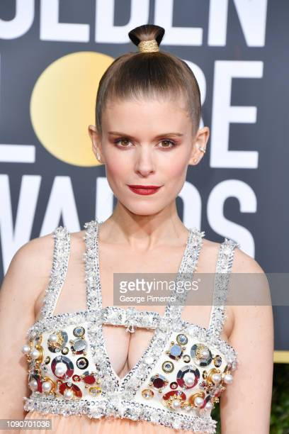 Kate Mara attends the 76th Annual Golden Globe Awards held at The Beverly Hilton Hotel on January 06 2019 in Beverly Hills California