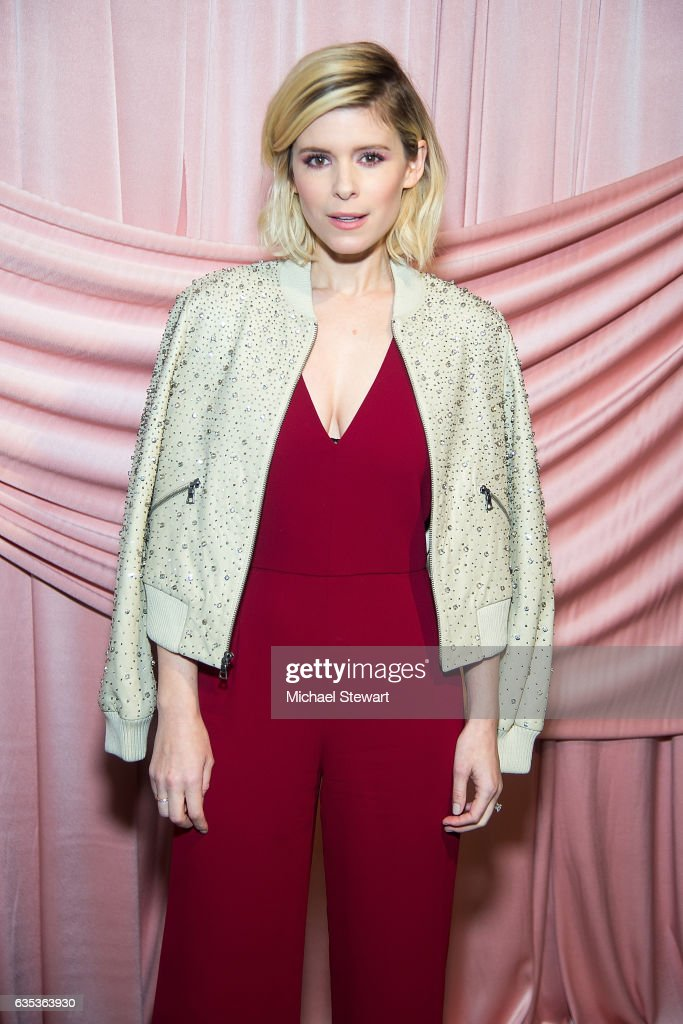 Kate Mara attends the Alice + Olivia by Stacey Bendet presentation during February 2017 New York Fashion Week at Highline Stages on February 14, 2017 in New York City.