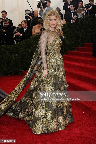 """Kate Mara attends the """"Charles James: Beyond Fashion"""" Costume Institute Gala at the Metropolitan Museum of Art on May 5, 2014 in New York City."""
